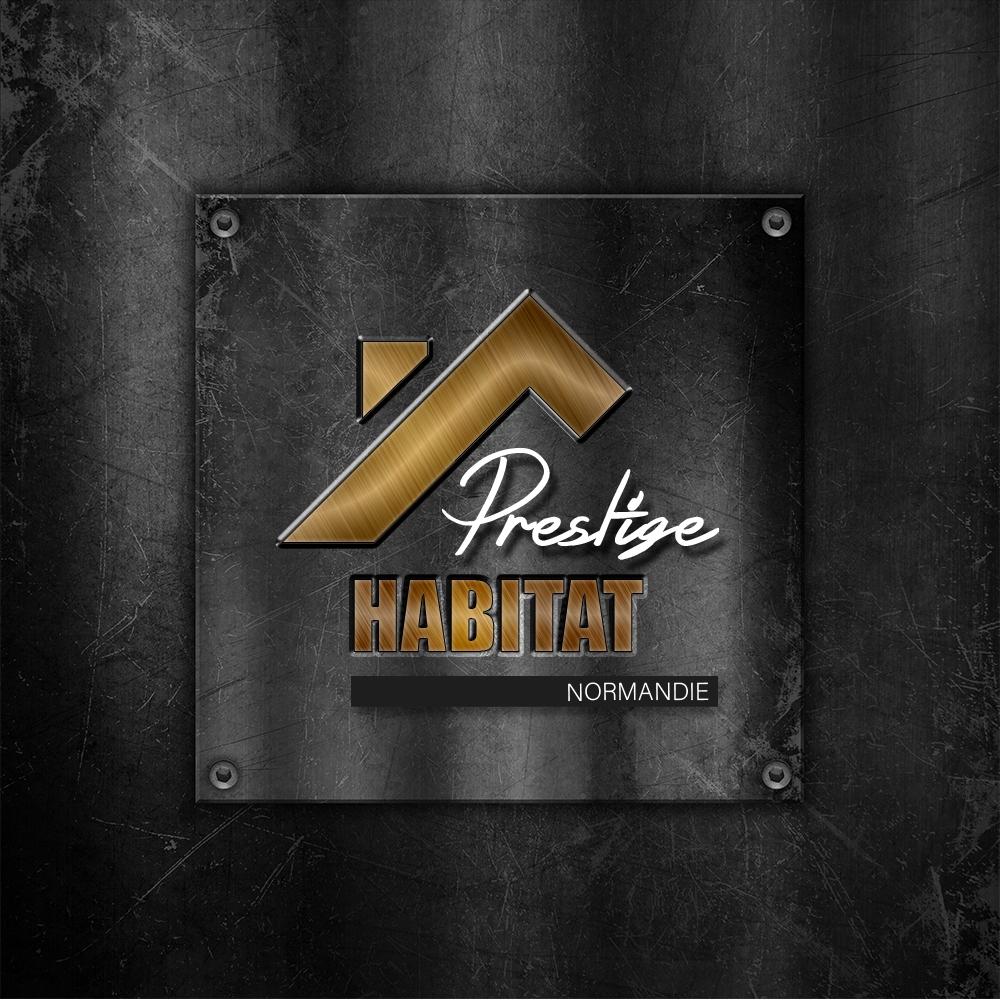 Logo et carte de visite Prestige Habitat Normandie
