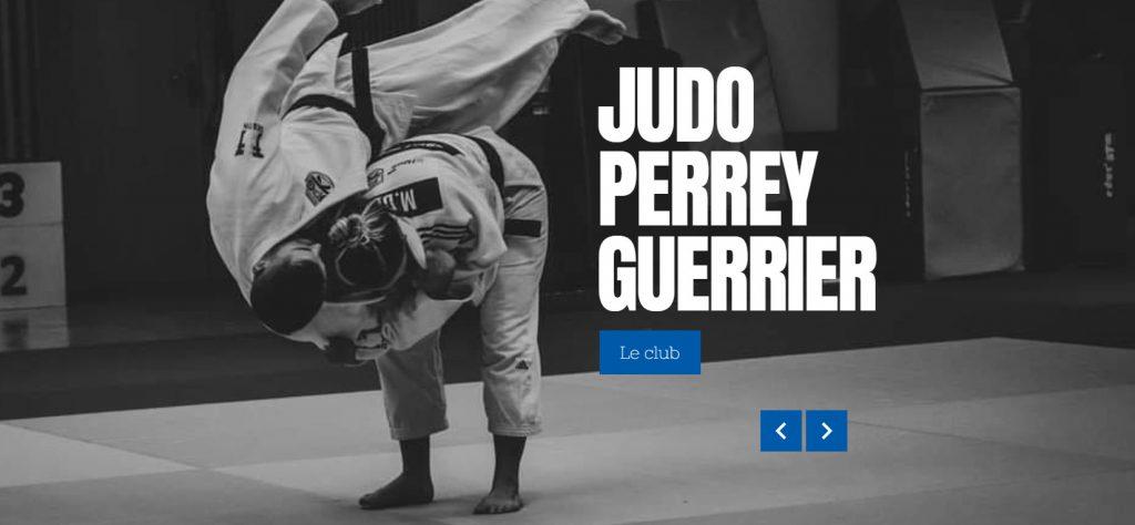 Site E-commerce abonnement avec espace membre judoperreyguerrier.fr